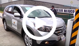 Crash Test Honda CRV